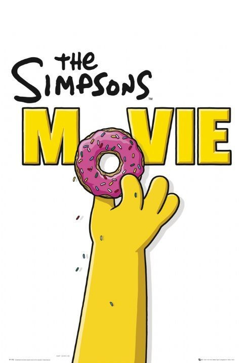 The Simpsons Movie Teaser Poster Sold At Abposters Com