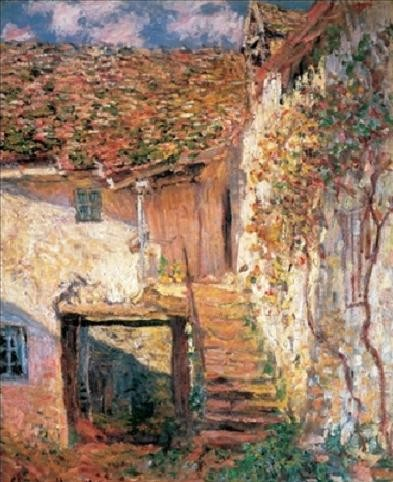 The Stairs, 1878 Art Print