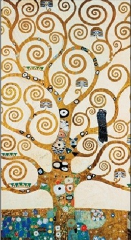 The Tree Of Life - Stoclit Frieze, 1909 Art Print