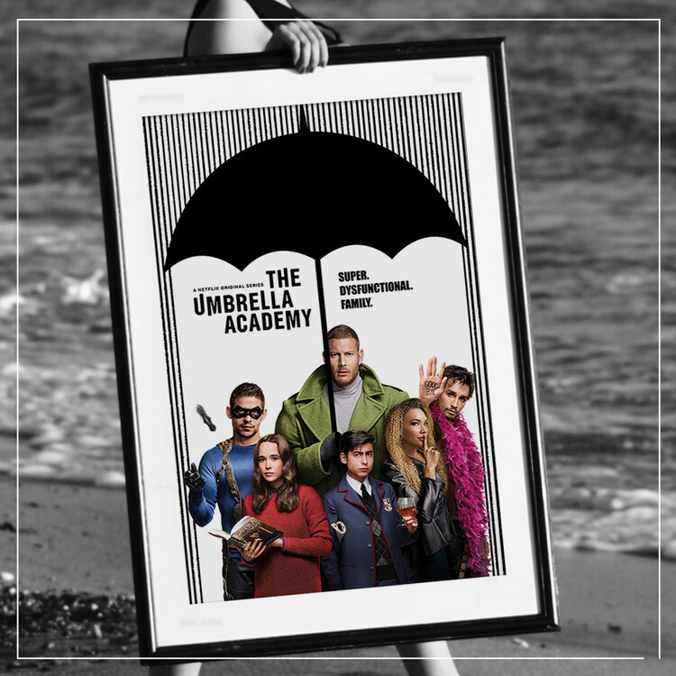 Poster The Umbrella Academy - Super Dysfunctional Family