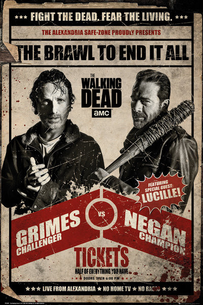 The Walking Dead - Fight Poster