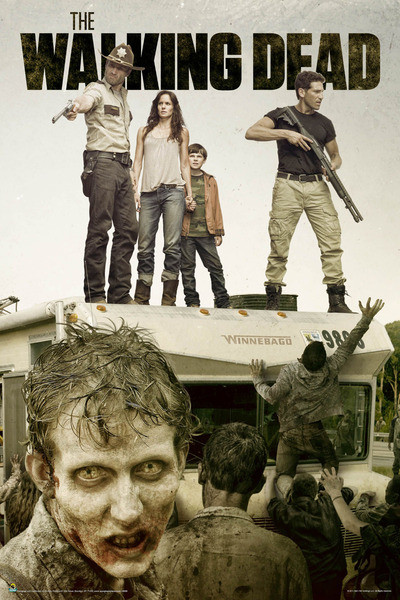 The Walking Dead Season 2 Poster Sold At Abposterscom