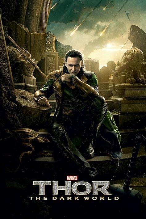 THOR 2 - loki Poster