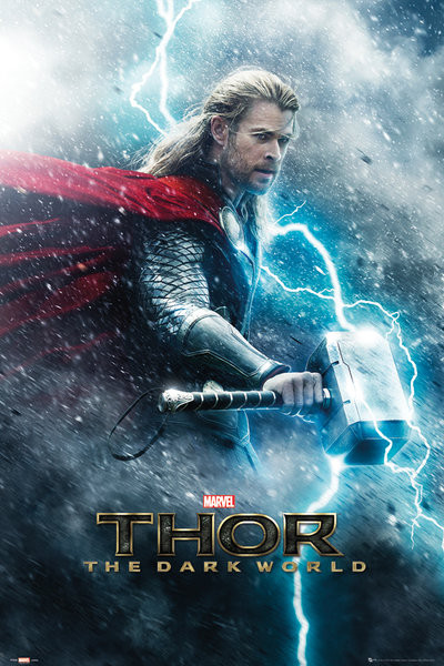 THOR THE DARK WORLD - teaser Poster | Sold at UKposters