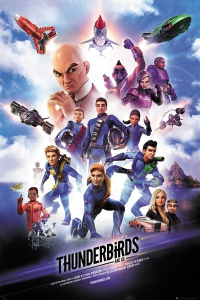 Thunderbirds Are Go - Keyart Poster