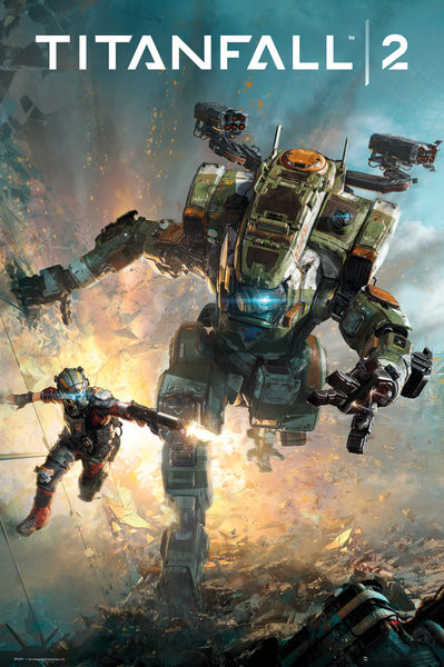 Titanfall 2 - Cover Poster | Sold at Abposters.com