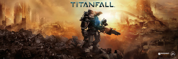 Titanfall - cover Poster, Art Print