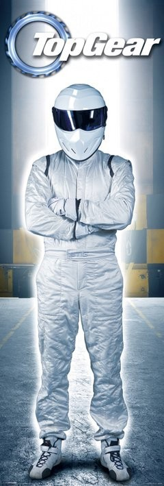 top gear the stig poster sold at europosters. Black Bedroom Furniture Sets. Home Design Ideas