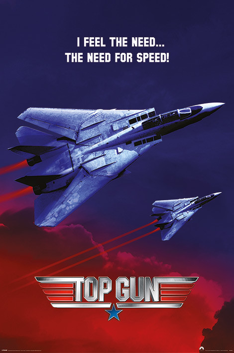 Poster Top Gun - The Need For Speed