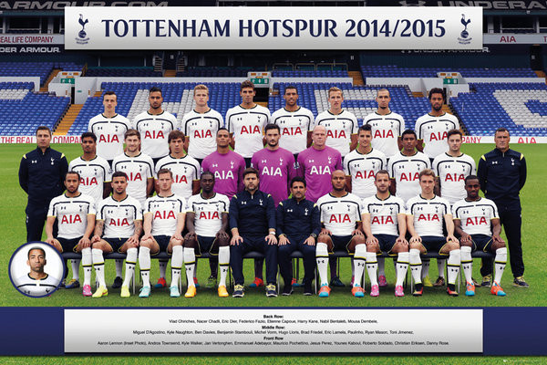 Poster Tottenham Hotspur FC - Team Photo 14/15