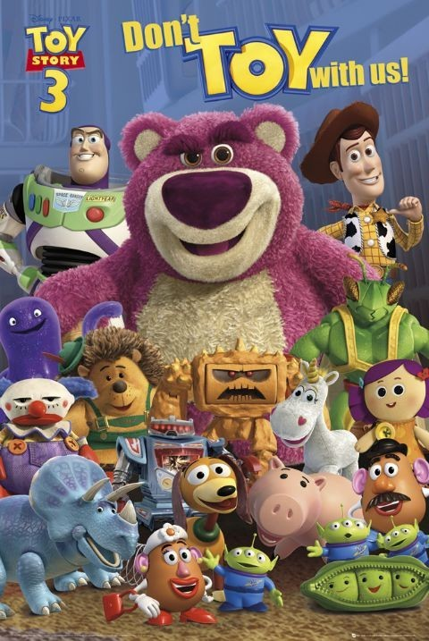 toy story 3 group poster sold at abposters com