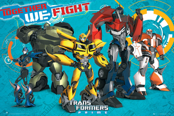 transformers prime cast poster sold at abposters com