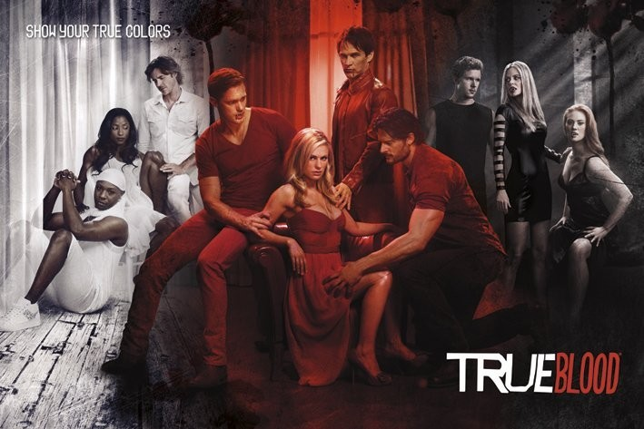TRUE BLOOD - show your true co Poster | Sold at Europosters