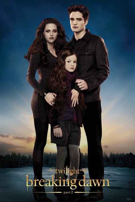 TWILIGHT BREAKING DAWN 2 - edward,bella & renesmee Poster ...