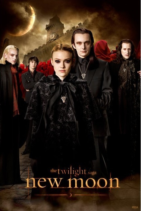 Twilight New Moon Voltori Poster