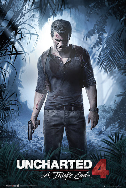 Uncharted 4 - A Thief's End Poster | Sold at UKposters