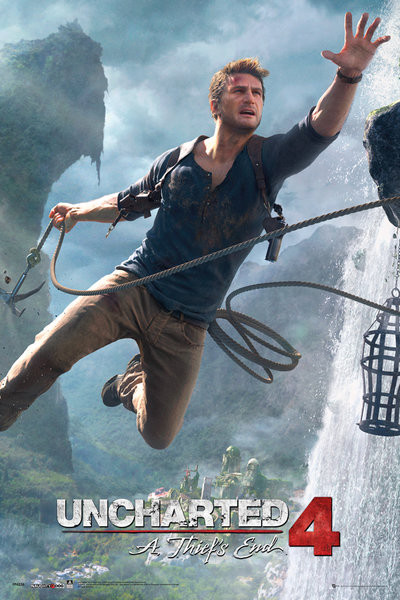 Uncharted 4 A Thief S End Jump Poster Sold At Abposters Com