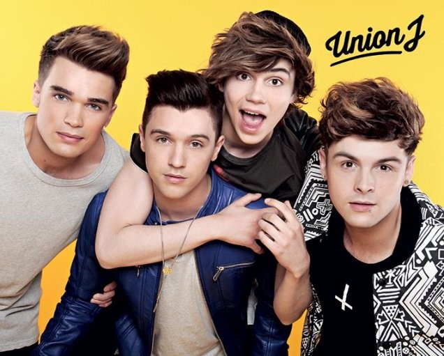 Union J - yellow Poster