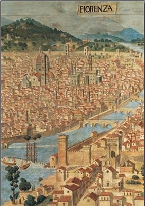 View of Florence Art Print