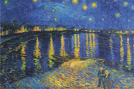 Vincent van Gogh - la nuit etoi Poster | Sold at Abposters.com