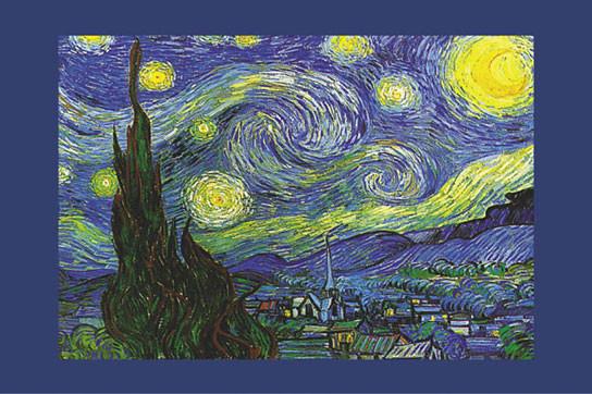 Vincent Van Gogh Nuit Etoilée Saint Rémy Poster Sold At Europosters