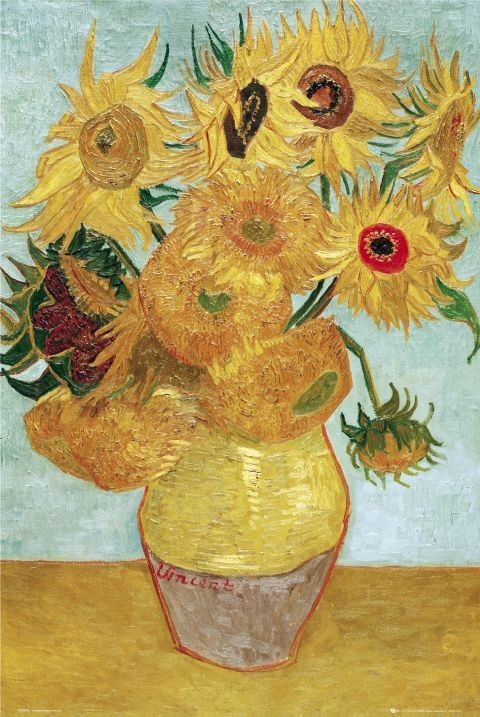 Vincent van Gogh - sunflowers Poster   Sold at Europosters