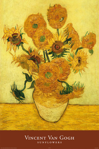 VINCENT VAN GOGH - sunflowers Poster | Sold at Europosters