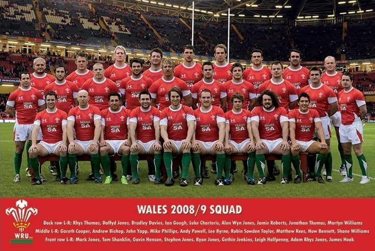 Wales - 2008/2009 Team Poster