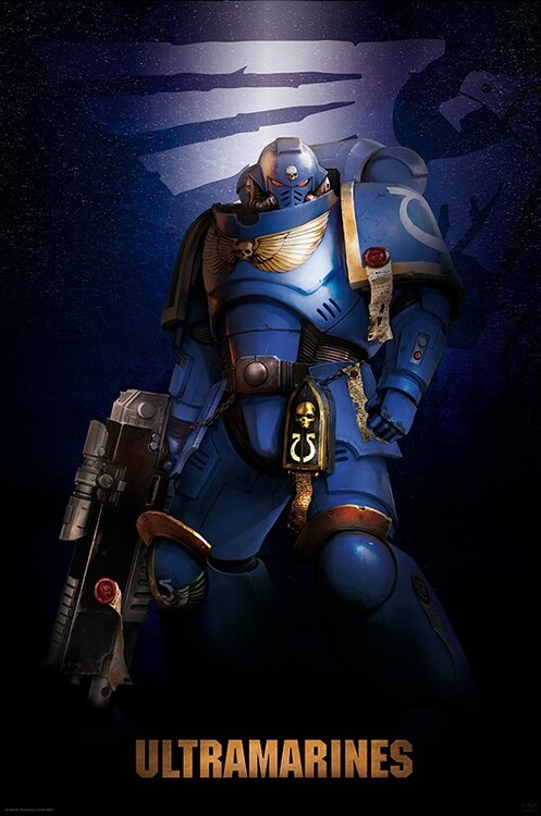 Poster Warhammer 40K - Ultramarine