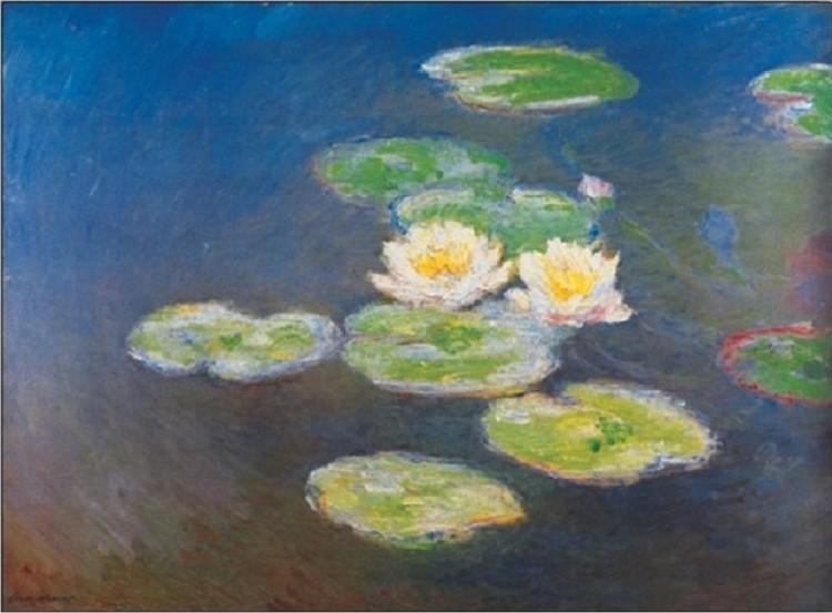 Water Lilies, 1914-1917 Art Print