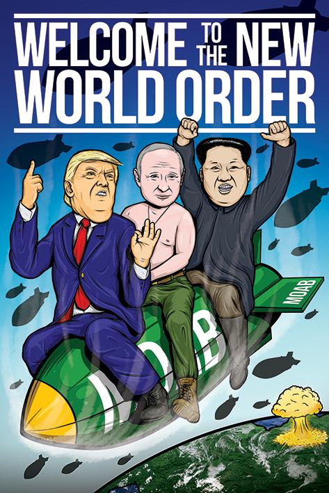 welcome to the new world order poster sold at europosters