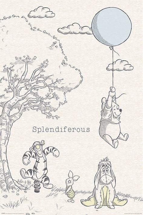 Winnie the Pooh - Splendiferous Poster