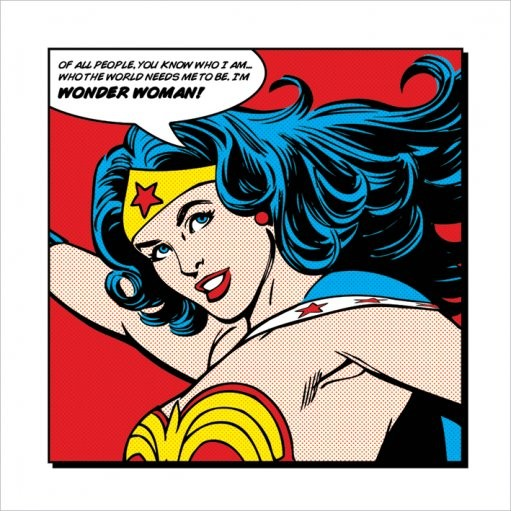 Wonder Woman - Of All People Art Print