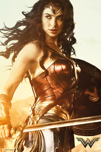 wonder woman sword poster sold at abposters com