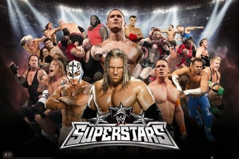 WWE - superstar Poster | Sold at Europosters