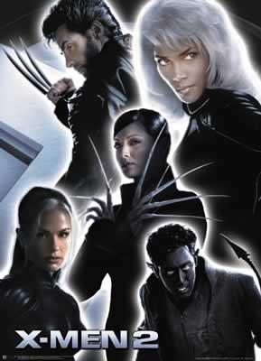 X-MEN 2 - collage Poster