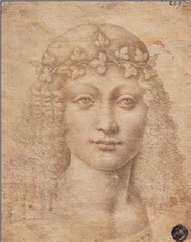 Young Bacchus - Giovane Bacco Art Print