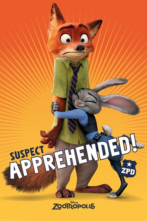 Zootopia - Suspect Apprehended Poster