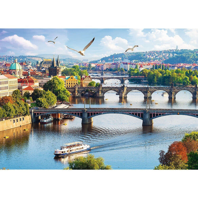 Puzzle Prague - Bridges
