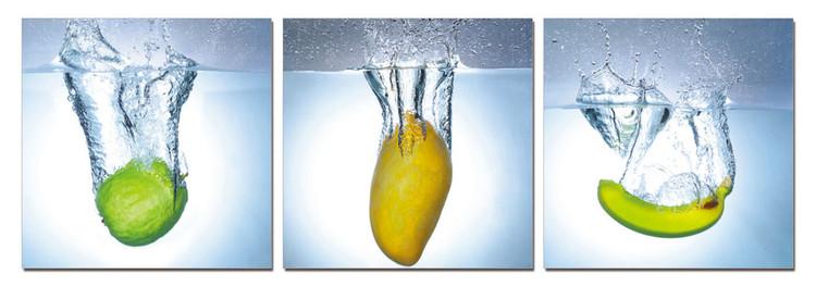 Modern design - fruit Mounted Art Print