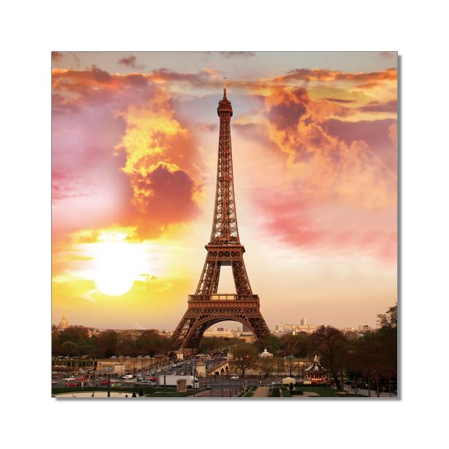 Paris - Eiffel tower Mounted Art Print