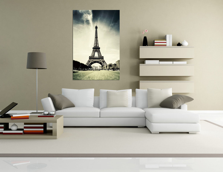 Paris - Eiffel tower Mounted Art Print