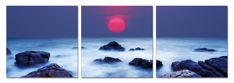 Sunrise Mounted Art Print