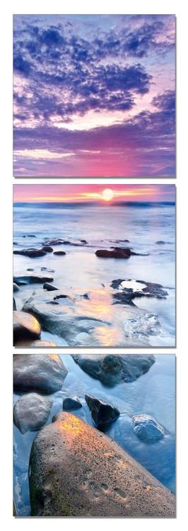 Welcome the Sun Mounted Art Print