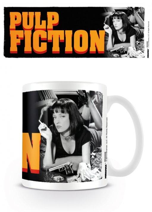 Cup Pulp Fiction - Mia, Uma Thurman