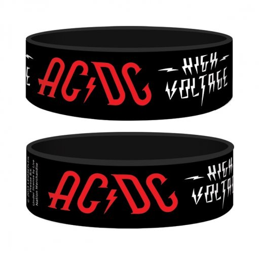 Pulseira AC/DC - high voltage