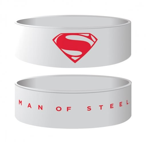 Pulseira MAN OF STEEL - logo