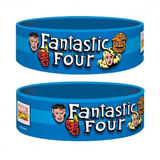 Pulseira Marvel Retro - Fantastic 4