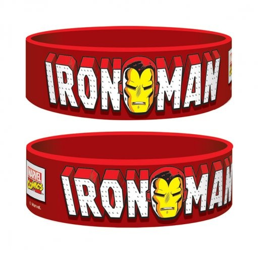 Pulseira Marvel Retro - Iron Man