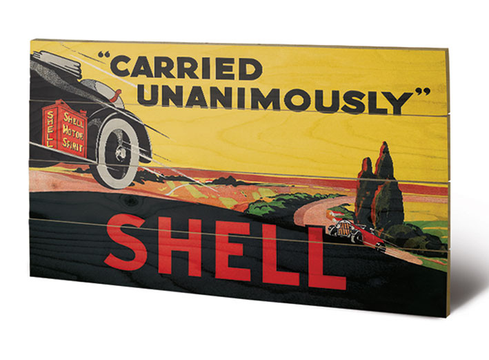 Shell - Carried Unanimously, 1923 Puukyltti